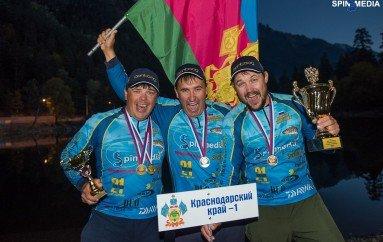 Первый Чемпионат России по ловле рыбы с берега