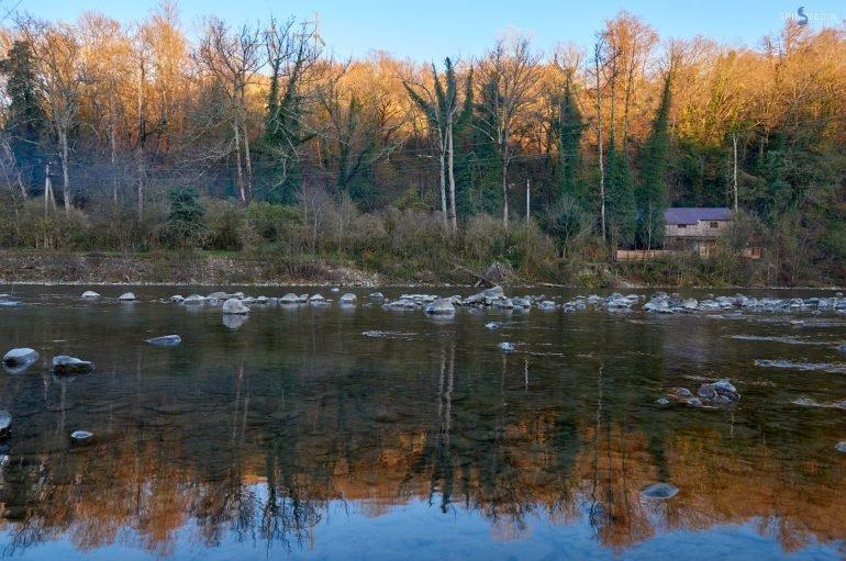 Река Сочи – горный бриллиант в тропической оправе