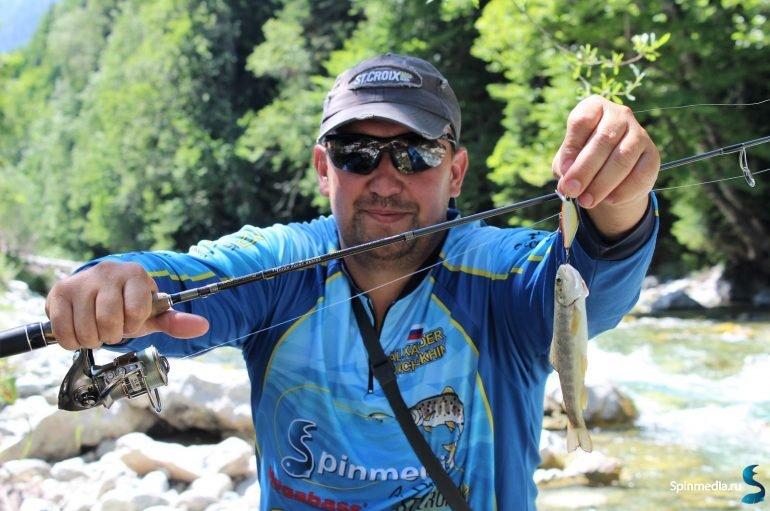 Река Большая Лаба. Ловля ручьевой форели.